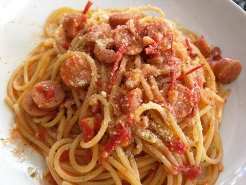生トマトのパスタ