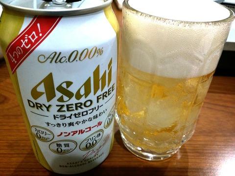 ドライゼロフリー ノンアルコールビール