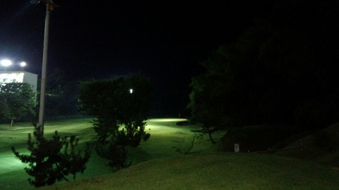 1人でもナイターでゴルフが出来ます! 鷲の峯カントリークラブ@高崎
