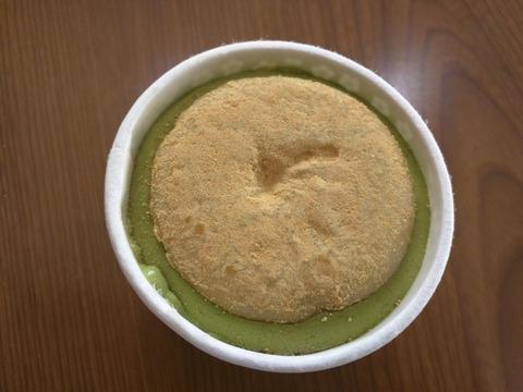 桔梗信玄餅アイス 抹茶