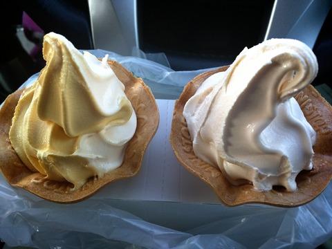 ミニストップ バナナソフトクリーム