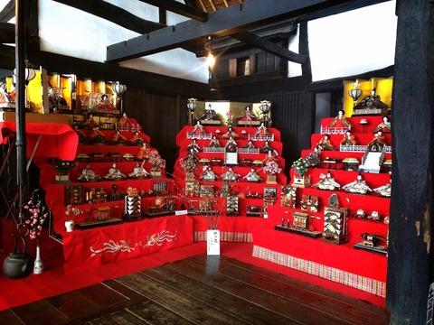 甘楽の雛祭り 松井家住宅