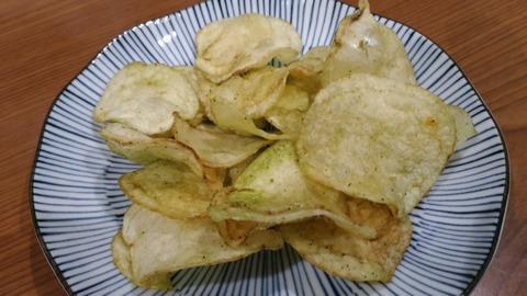 湖池屋プライドポテト天ぷら茶塩